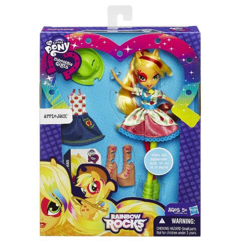 File:Applejack Equestria Girls Rainbow Rocks fashion set packaging.jpg