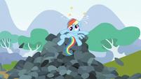 Rainbow Dash cross eyed dazed S3E9