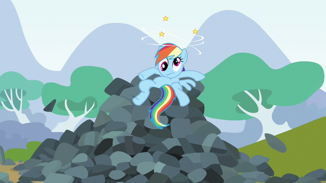 File:Rainbow Dash cross eyed dazed S3E9.png
