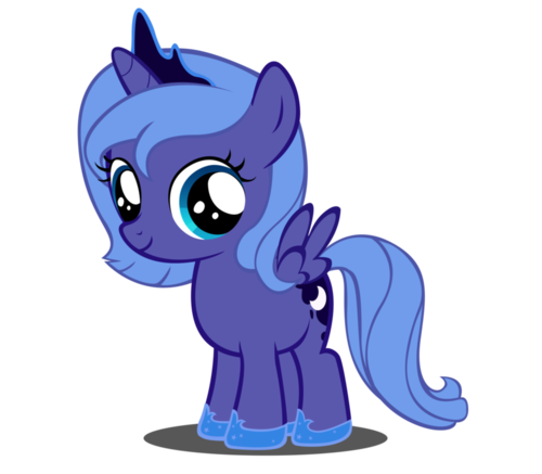 File:FANMADE Young Princess Luna.png