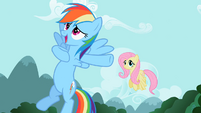 Rainbow Dash 'just like me' S2E07