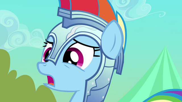 "File:Rainbow Dash ""I'll take it easy on you next time"" S3E02.png"