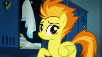 Spitfire smiling adorably S6E24