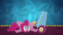 Pinkie Pie lights her party cannon's fuse BFHHS5