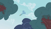Rainbow flying by S1E5