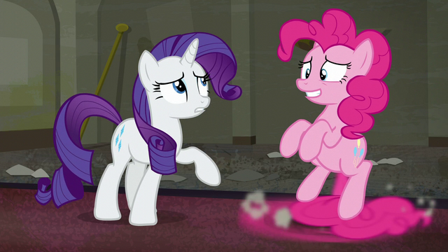 "File:Rarity ""at the Party Palace upstairs"" S6E9.png"