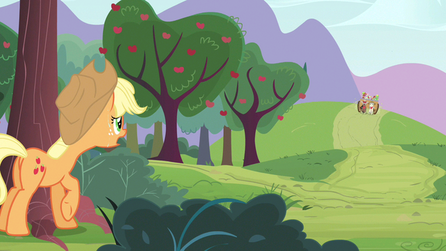 File:Applejack they're coming S3E8.png