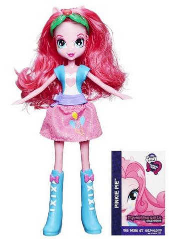 File:Pinkie Pie Equestria Girls show attire doll.png