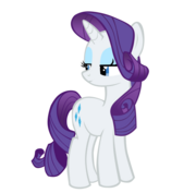 FANMADE Rarity not amused