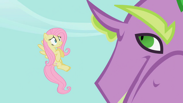 File:Fluttershy entreats Spike to release Rarity S2E10.png