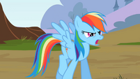 Rainbow Dash walking S2E07