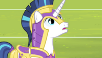 Shining Armor in shock S4E24