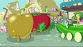 Dr. Hooves as a pear S3E4.png