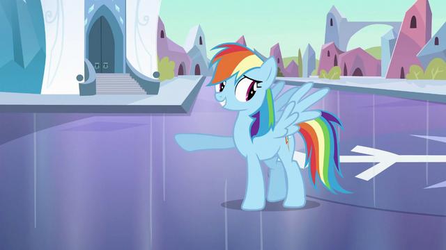 File:Rainbow Dash 'Pretty good mood' S3E2.png