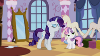 "Rarity ""Watch your tone"" S2E05"