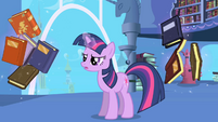 Twilight floating books S1E01