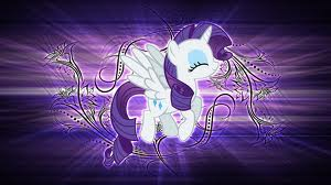 File:FANMADE Alicorn Rarity with shiny wallpaper.jpg