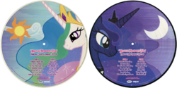 FANMADE Magical Friendship Tour side A variants
