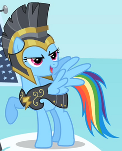 Rainbow Dash - Commander Hurricane S2E11.png