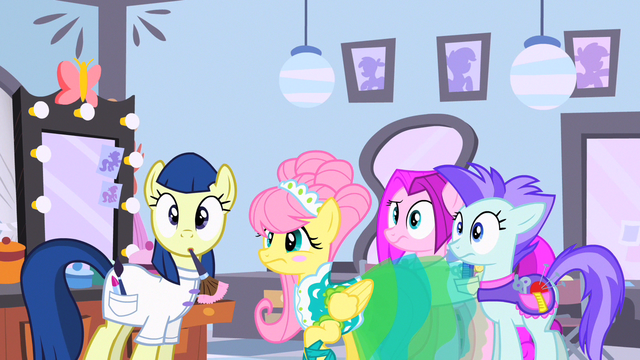 File:Fluttershy & group Go! S1E20.png