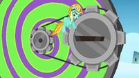 Lightning 'can you put the Dizzitron at maximum speed' S3E07