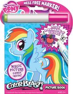 Rainbow Dash colouring book