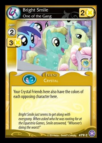 File:Bright Smile, One of the Gang card MLP CCG.jpg