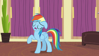 "Rainbow Dash ""totally unrealistic and terrible"" S6E13"