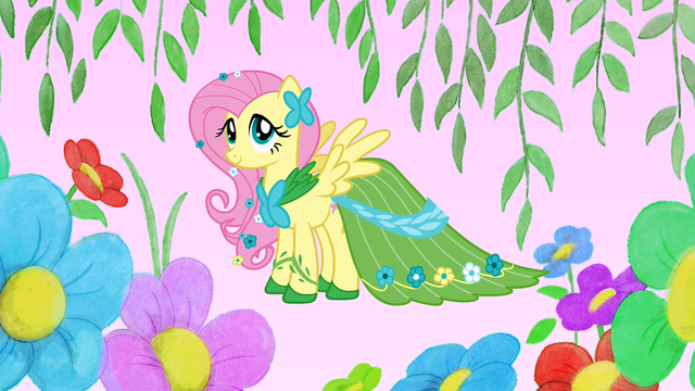 File:Fluttershy in her gala dress S1E14.png
