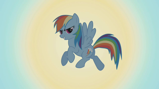 File:Rainbow Dash in front of the sun S1E06.png