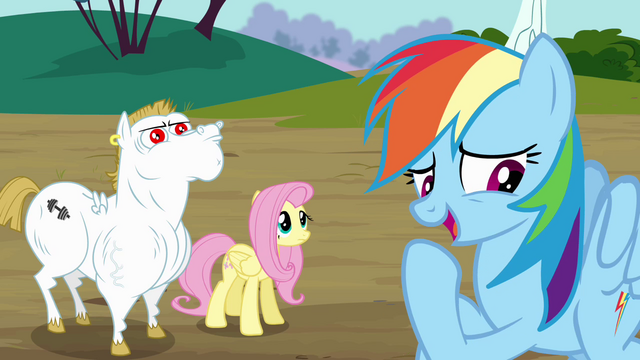 File:Rainbow correcting herself S4E10.png
