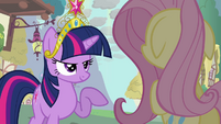 "Twilight and Fluttershy ""but you DO know"" S03E13"
