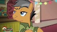 Quibble Pants looking smug S6E13