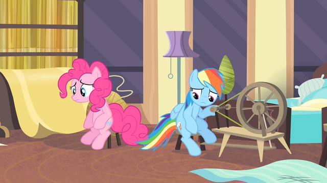 File:Rainbow and Pinkie looking down S4E08.png