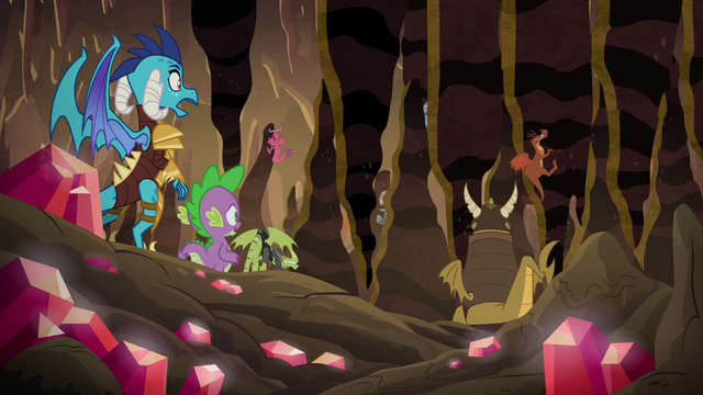 File:Spike and Ember face the crunching rocks S6E5.png