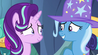Starlight Glimmer and Trixie smile at each other S6E26
