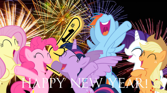 File:FANMADE Happy New Year from the Main Six.png
