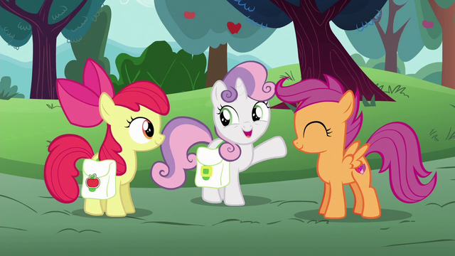 """File:Sweetie Belle """"the award for most traditional!"""" S6E14.png"""