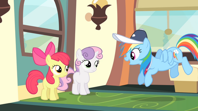 File:Rainbow Dash 'How's my favorite routine...' S4E05.png