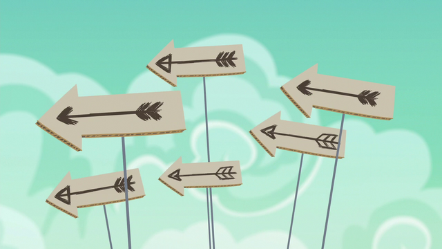 File:Cardboard arrows fly through the air S6E17.png
