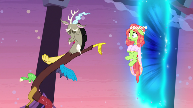 """File:Discord """"just as soon as she's gone"""" S5E7.png"""