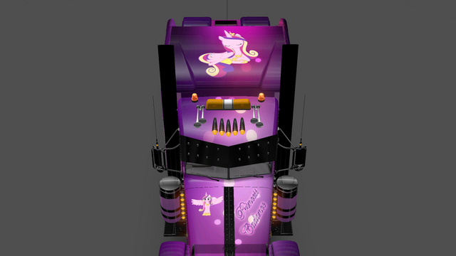 File:FANMADE ETS2 Pete 389 Custom - Princess Cadance Skin 11.png