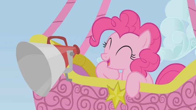 File:Pinkie Pie announcing from a hot-air balloon S1E13.png