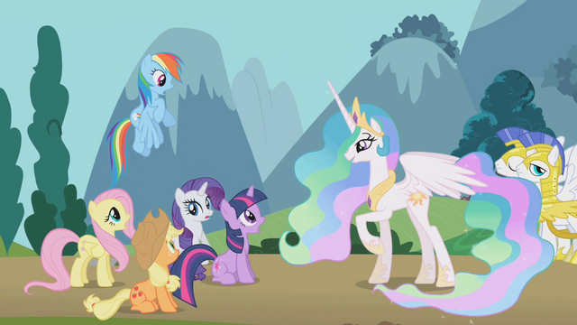 File:Princess Celestia 'emergency in Fillydelphia' S1E10.png