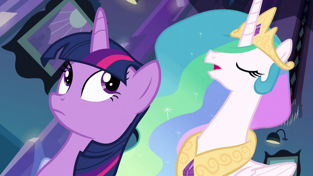 File:Princess Celestia addressing Twilight about her task EG.png
