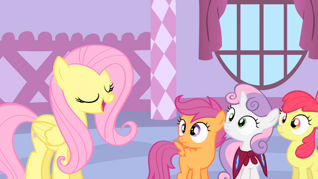File:Fluttershy talks to the CMC S1E17.png