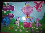 Friendship is Magic Twinkling Balloon Set back of packaging