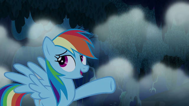 "File:Rainbow Dash ""you're too easy"" S6E15.png"