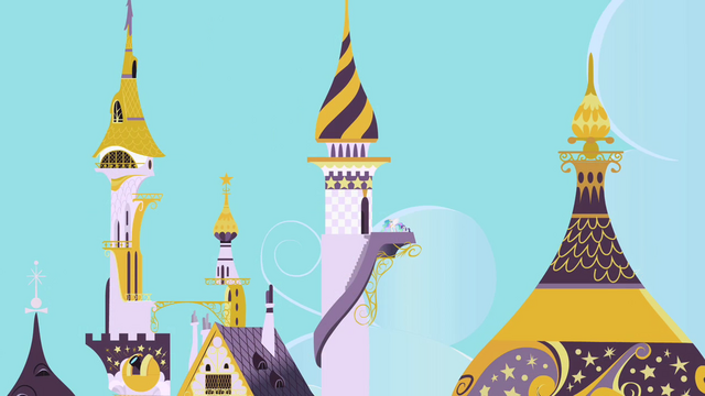 File:Rarity and Celestia entering the tower S2E9.png