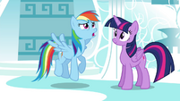 "Rainbow ""But how in Equestria did that happen?"" S4E21"